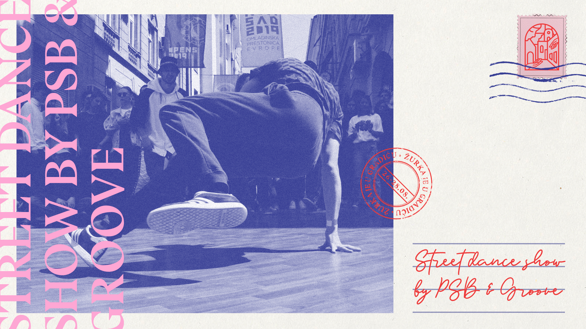 Street dance show by PSB & Groove